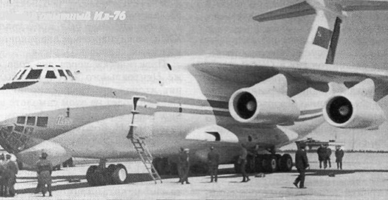 Первый опытный Ил-76.