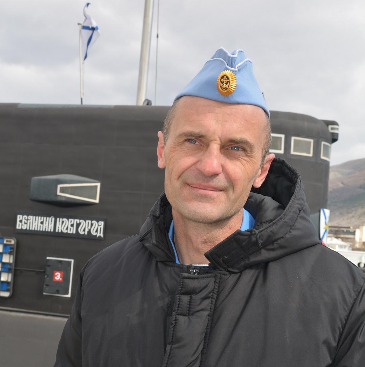 Командир ПЛ «Великий Новгород» капитан 2 ранга Константин Петренко.