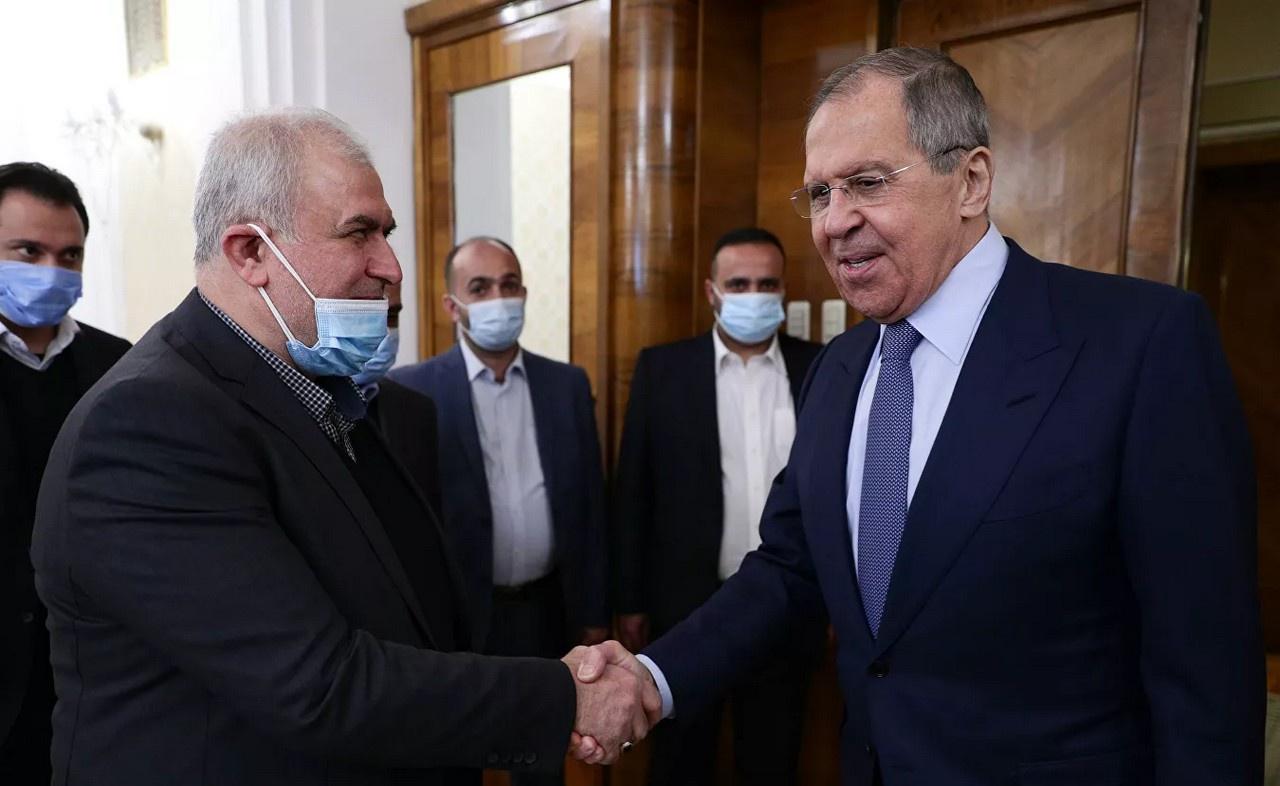 Глава МИД России Сергей Лавров провёл встречу с делегацией ливанского движения «Хезболла».