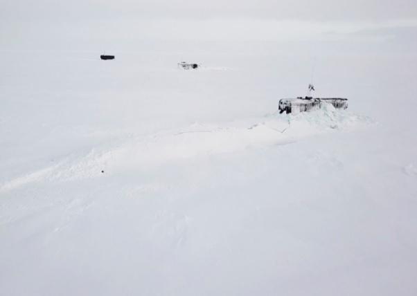 Три российские атомные подводные лодки 26 марта, проломив полутораметровые льды, одновременно всплыли в высоких полярных широтах.