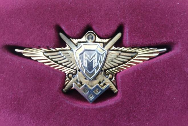 Нагрудный знак победителя Армейских Международных игр.