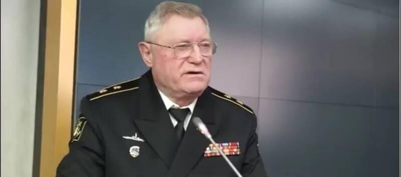 Вице-адмирал Анатолий Шевченко.
