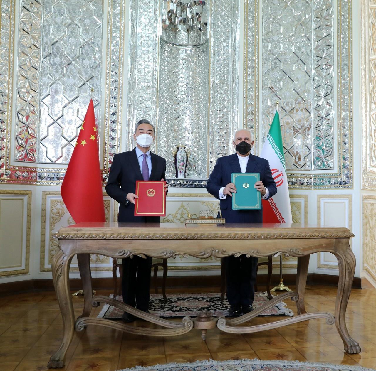 Иран и Китай 27 марта 2021 года заключили соглашение о политическом, стратегическом и экономическом сотрудничестве сроком на 25 лет. США отдыхают.