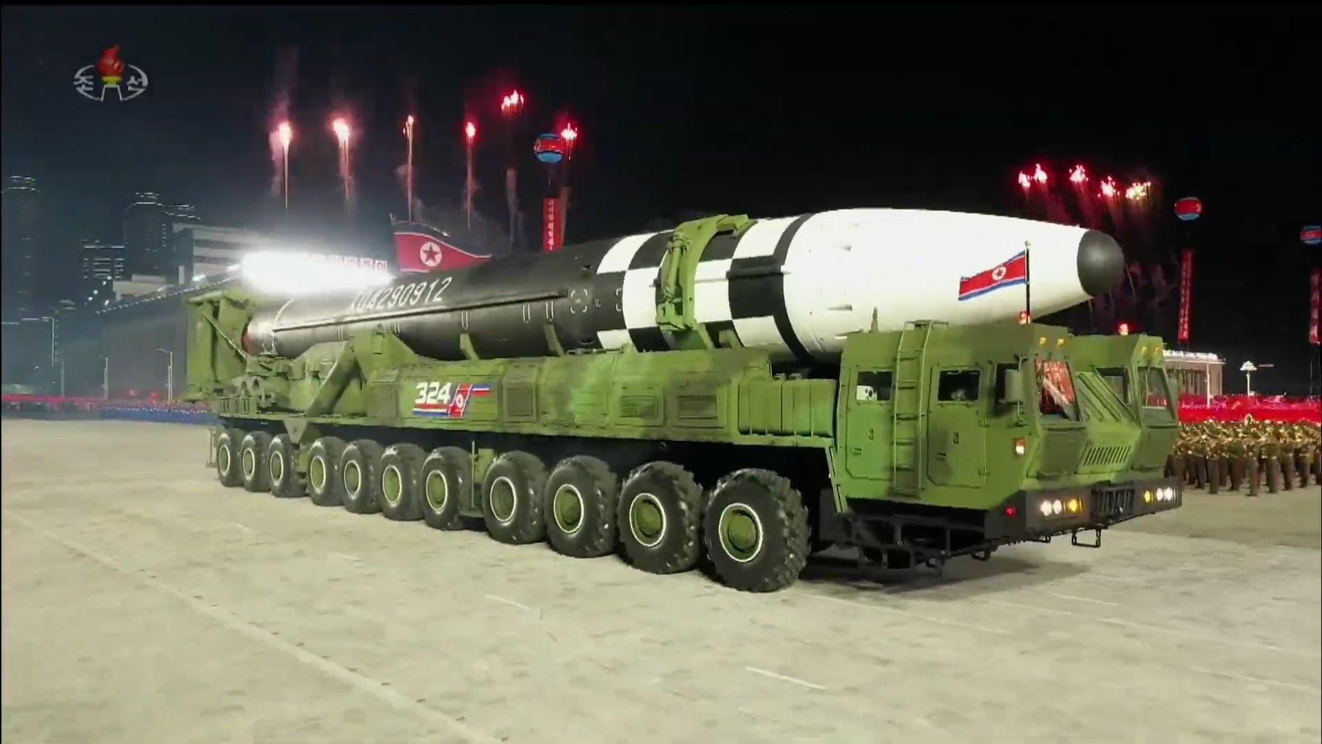 Межконтинентальная баллистическая ракета Hwasong-16.