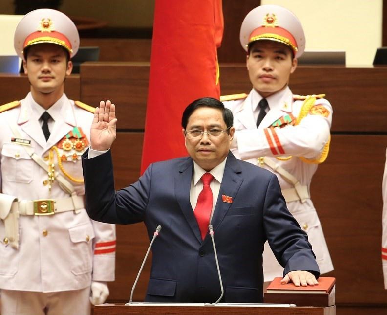 Новый премьер-министр Вьетнама Фам Минь Тинь.
