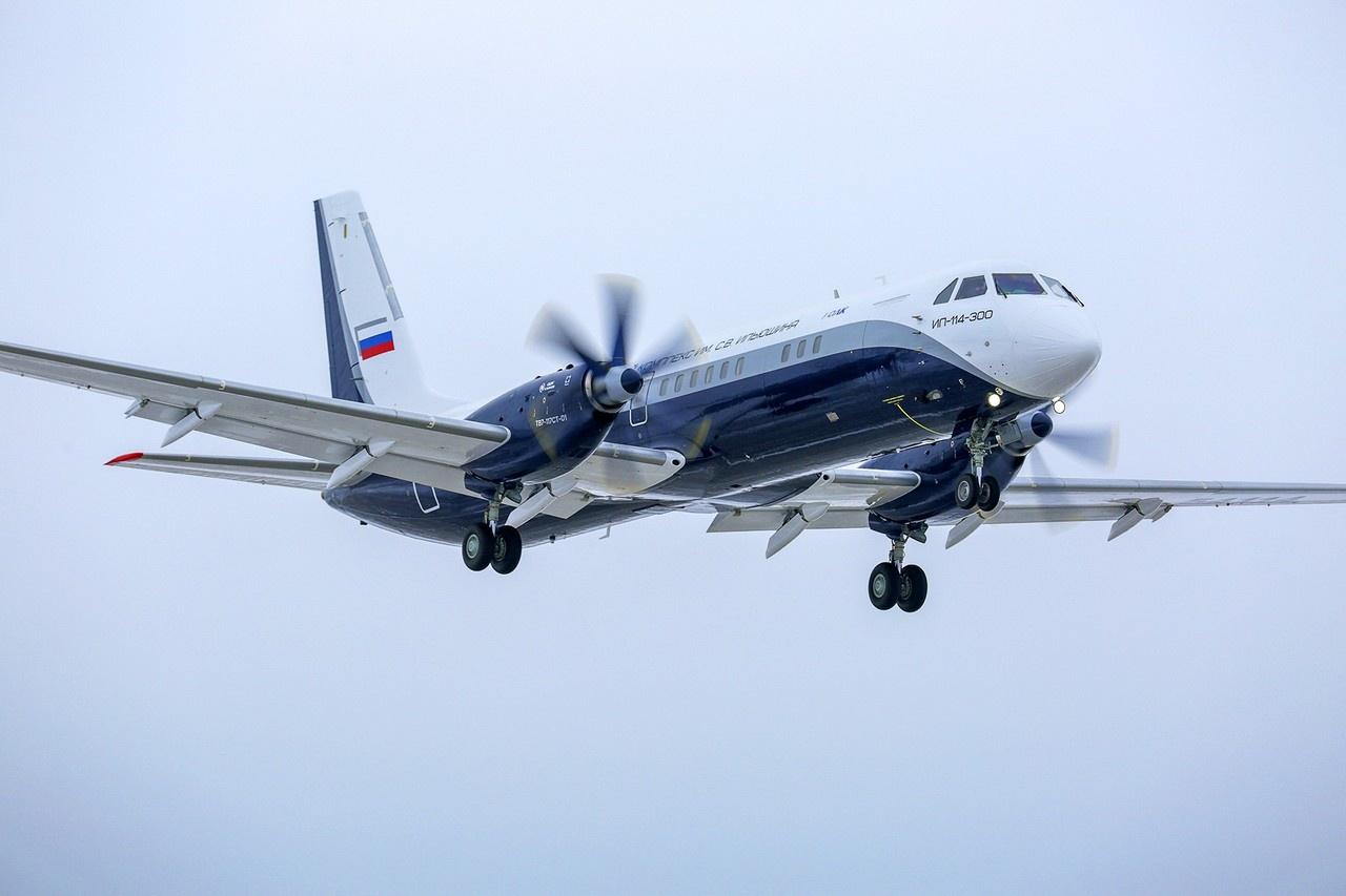 Новые российские двигатели ТВ7-117СТ-01 станут штатными для пассажирского самолёта Ил-114-300.