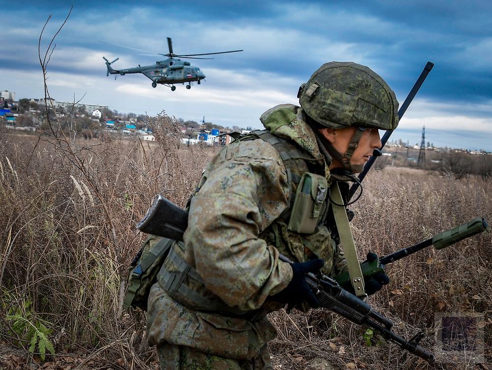 Одиночная выучка бойца - залог успеха любого десантного подразделения.