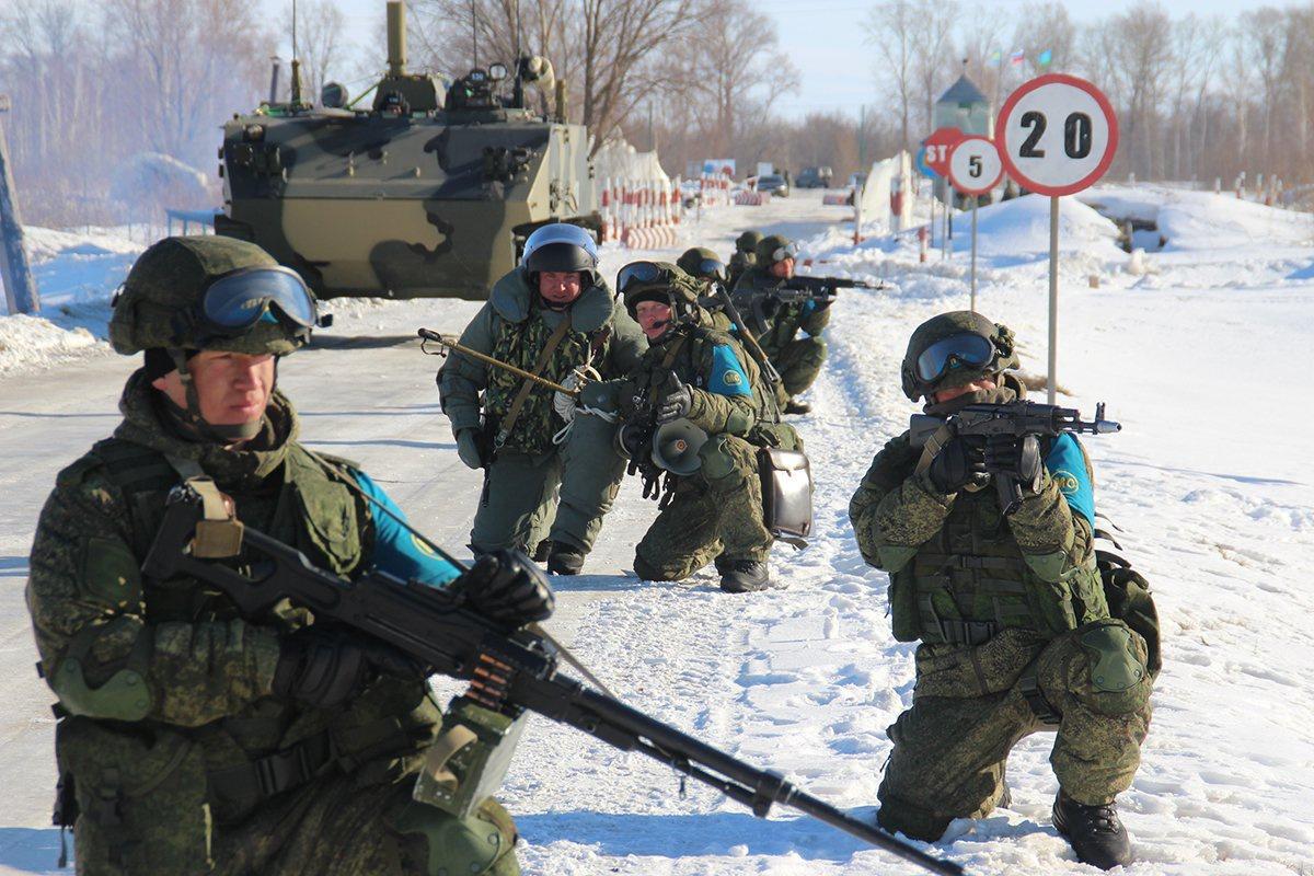 Учения ВДВ направлены исключительно на оборону и поддержание мира в регионе.