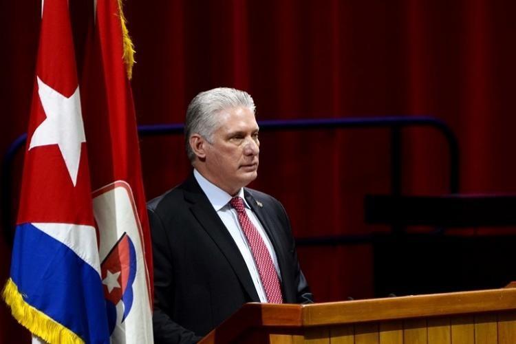 Президент Кубы Мигель Диас-Канель возглавил Компартию Кубы.