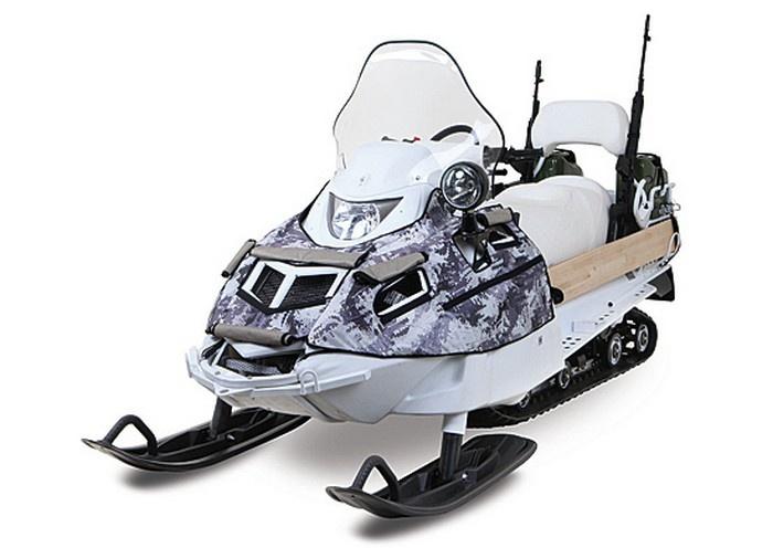 Специально для арктических подразделений СФ разработан армейский снегоход высокой проходимости АС-1.