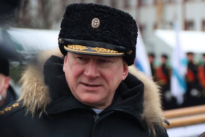 Главком ВМФ России адмирал Николай Евменов.