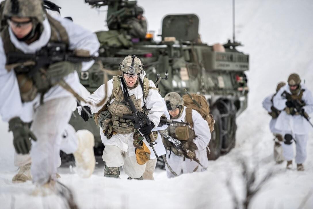 В Арктике 3 мая начнутся крупнейшие учения вооружённых сил США, получившие наименование Northern Edge 2021.