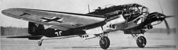 Heinkel He.111- немецкий средний бомбардировщик, один из основных бомбардировщиков люфтваффе.