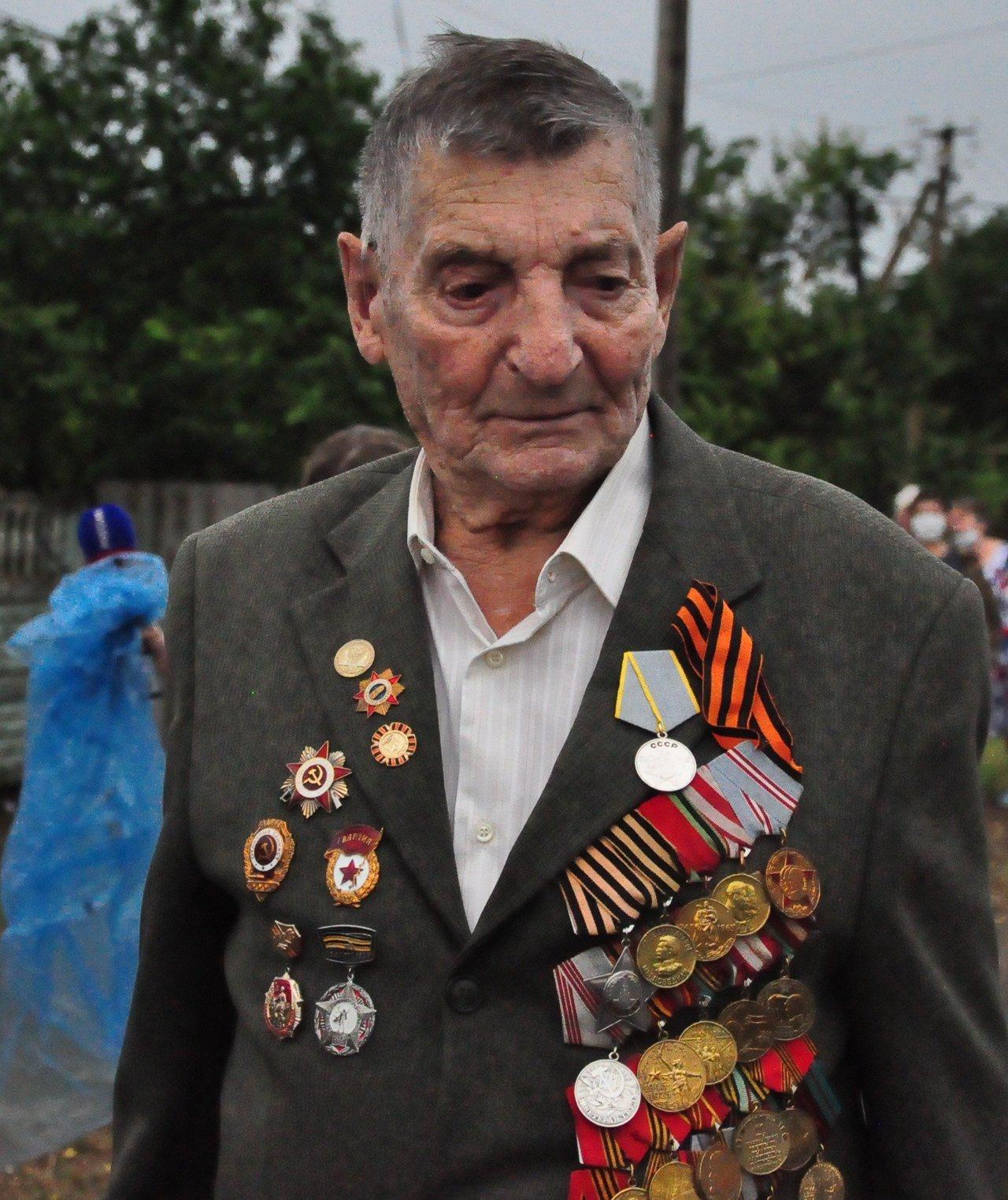 Медаль «За боевые заслуги»Ивана Зверева.