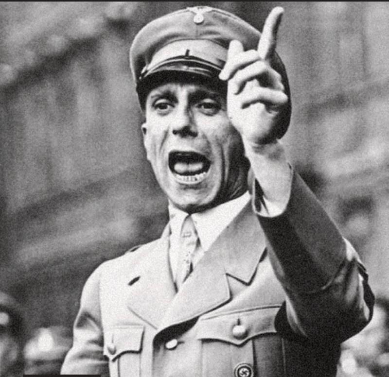 Геббельс издал специальный приказ «О пропагандистской обработке европейских народов».