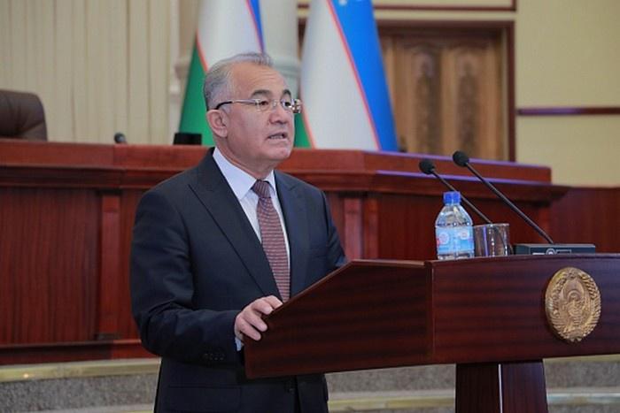 Первый заместитель спикера Законодательной палаты Олий Мажлиса Республики Узбекистан академик Акмаль Саидов.