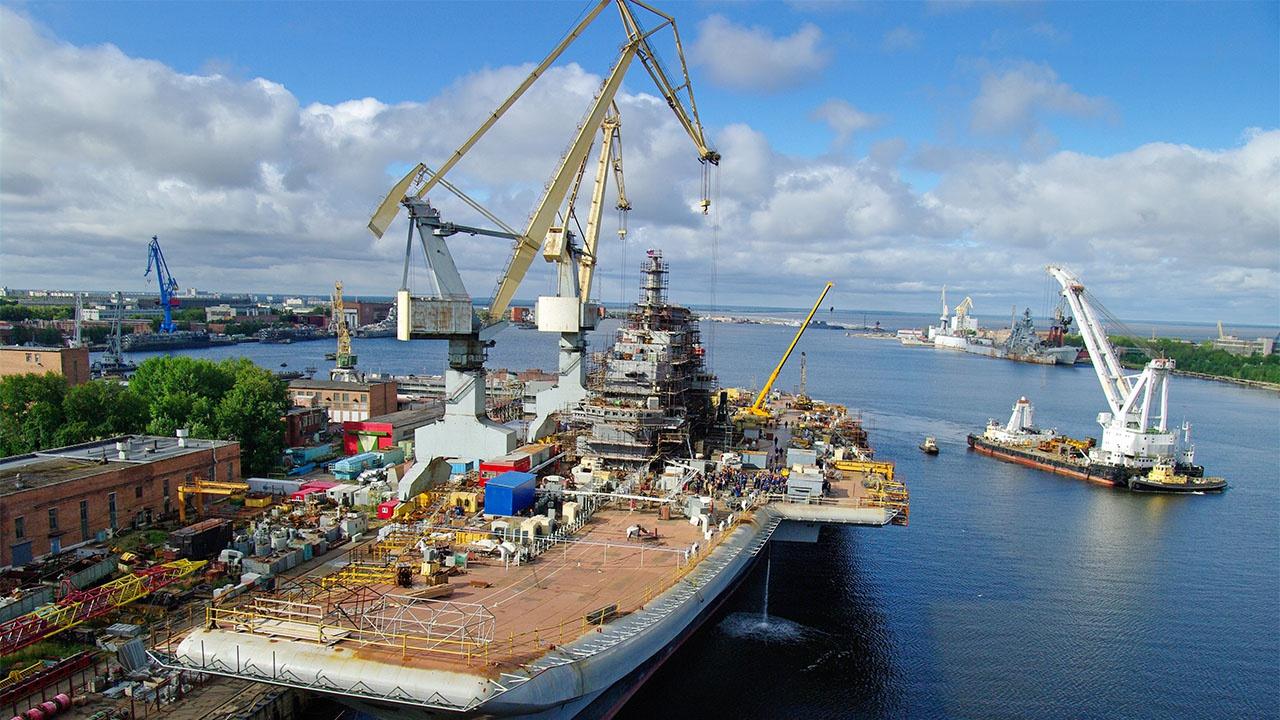 Крыловский центр и Невское ПКБ готовы доказать, что российская наука и промышленность обладают всеми необходимыми компетенциями по созданию авианосцев для ВМФ России