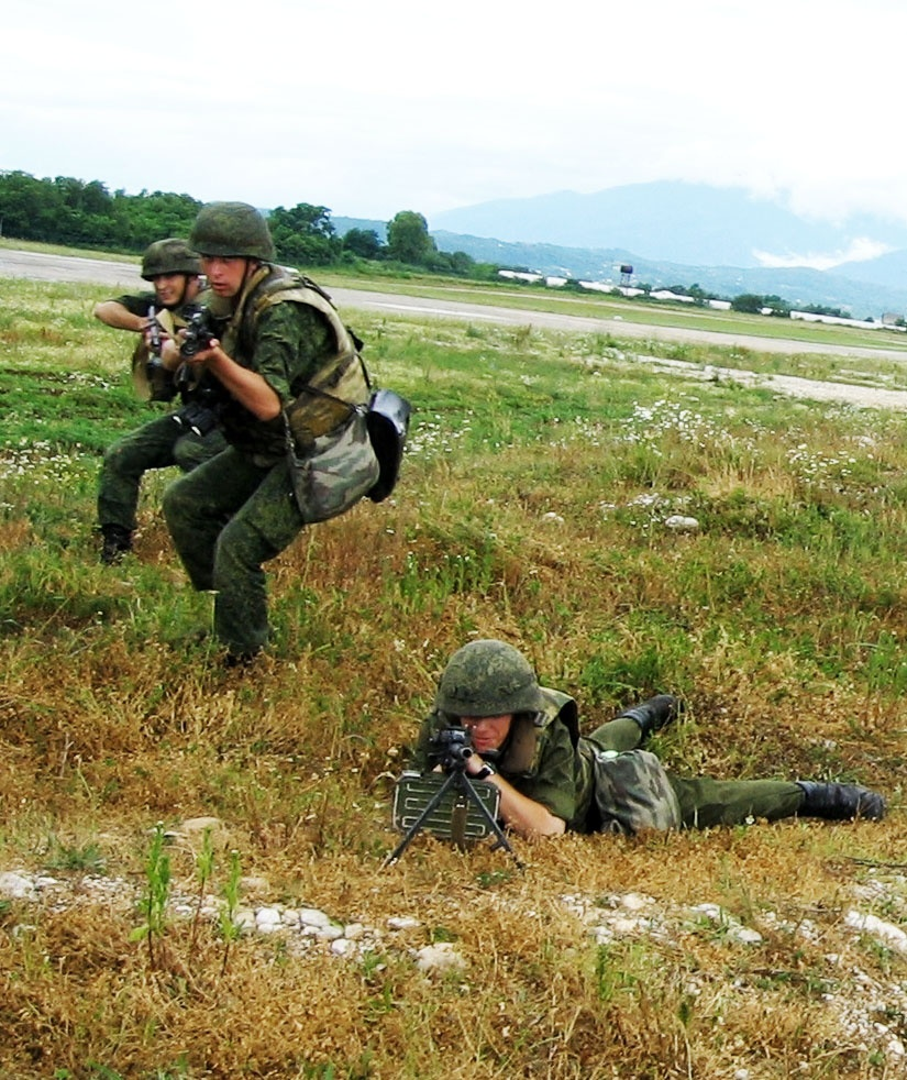 Напор винтокрылой пехоты.
