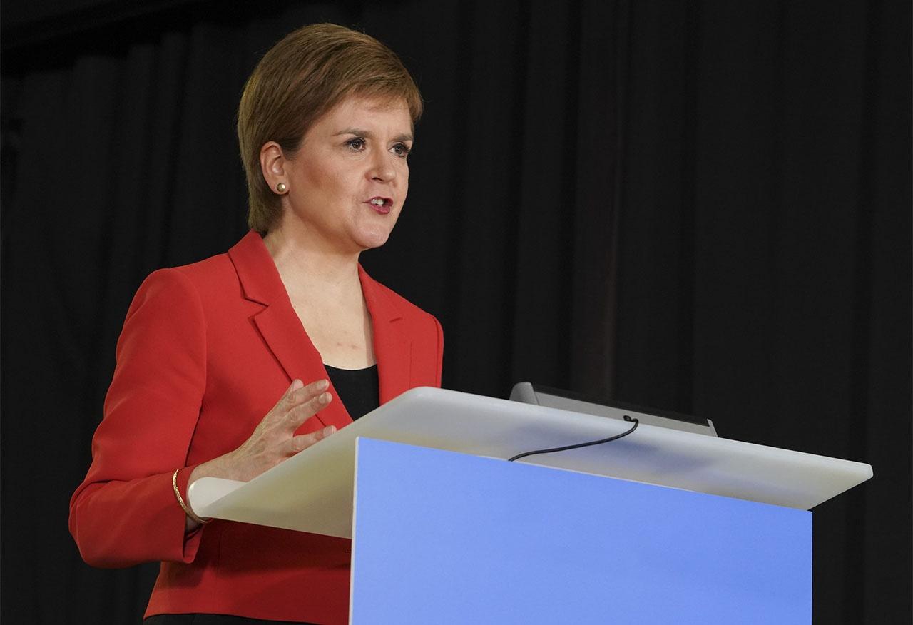 Первый министр Шотландии Никола Стерджен пообещала провести референдум о независимости вскоре после окончания ковидного кризиса.
