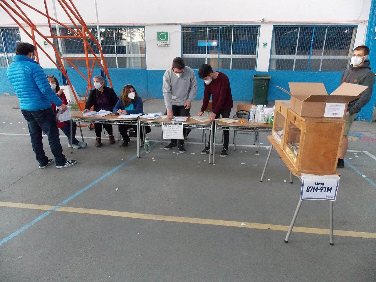 На референдуме 2020 года большинство чилийцев проголосовало за «конституционный» съезд.