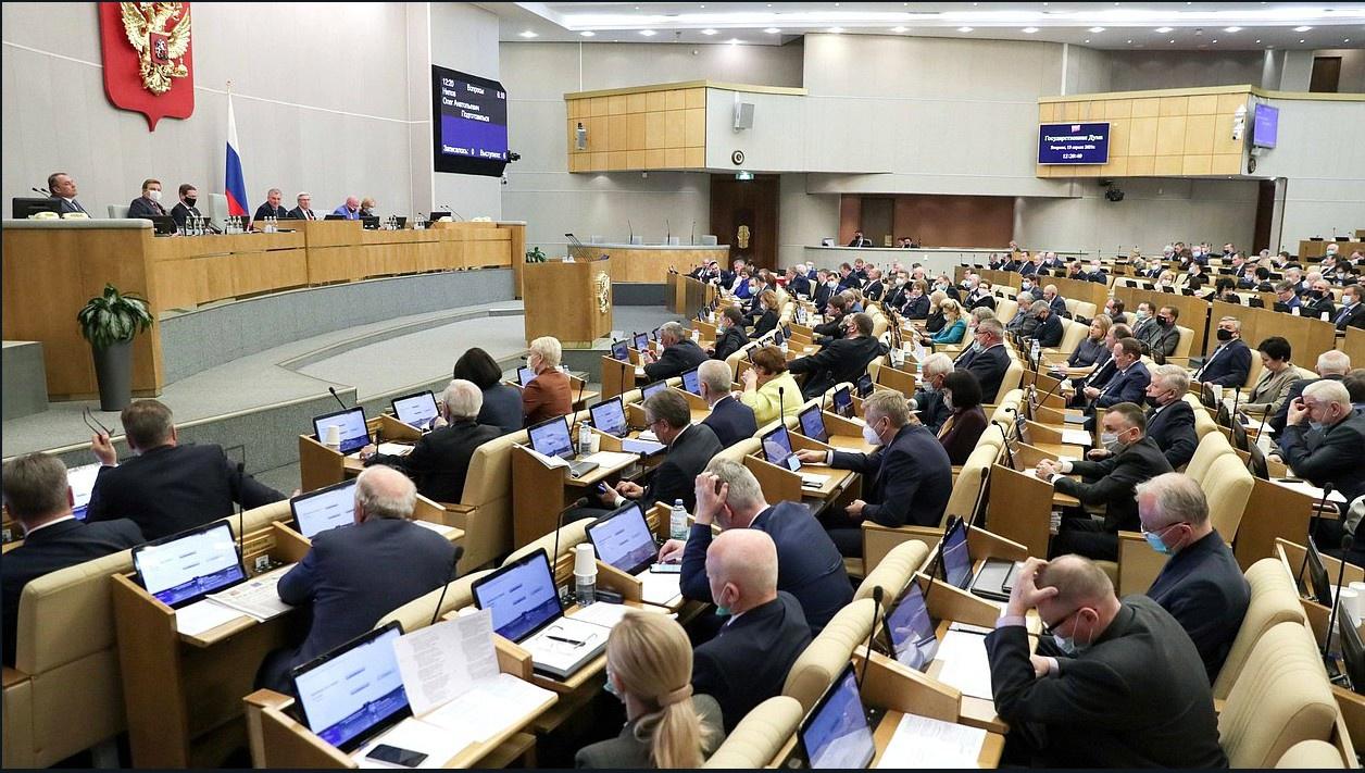 Госдума на заседании 19 мая единогласно приняла внесённый президентом РФ Владимиром Путиным законопроект о денонсации Договора по открытому небу.