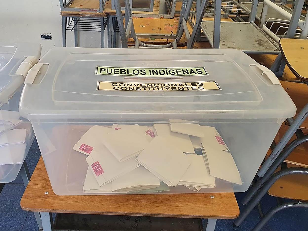 На майских выборах в Конституционное собрание Чили было избрано 155 членов.