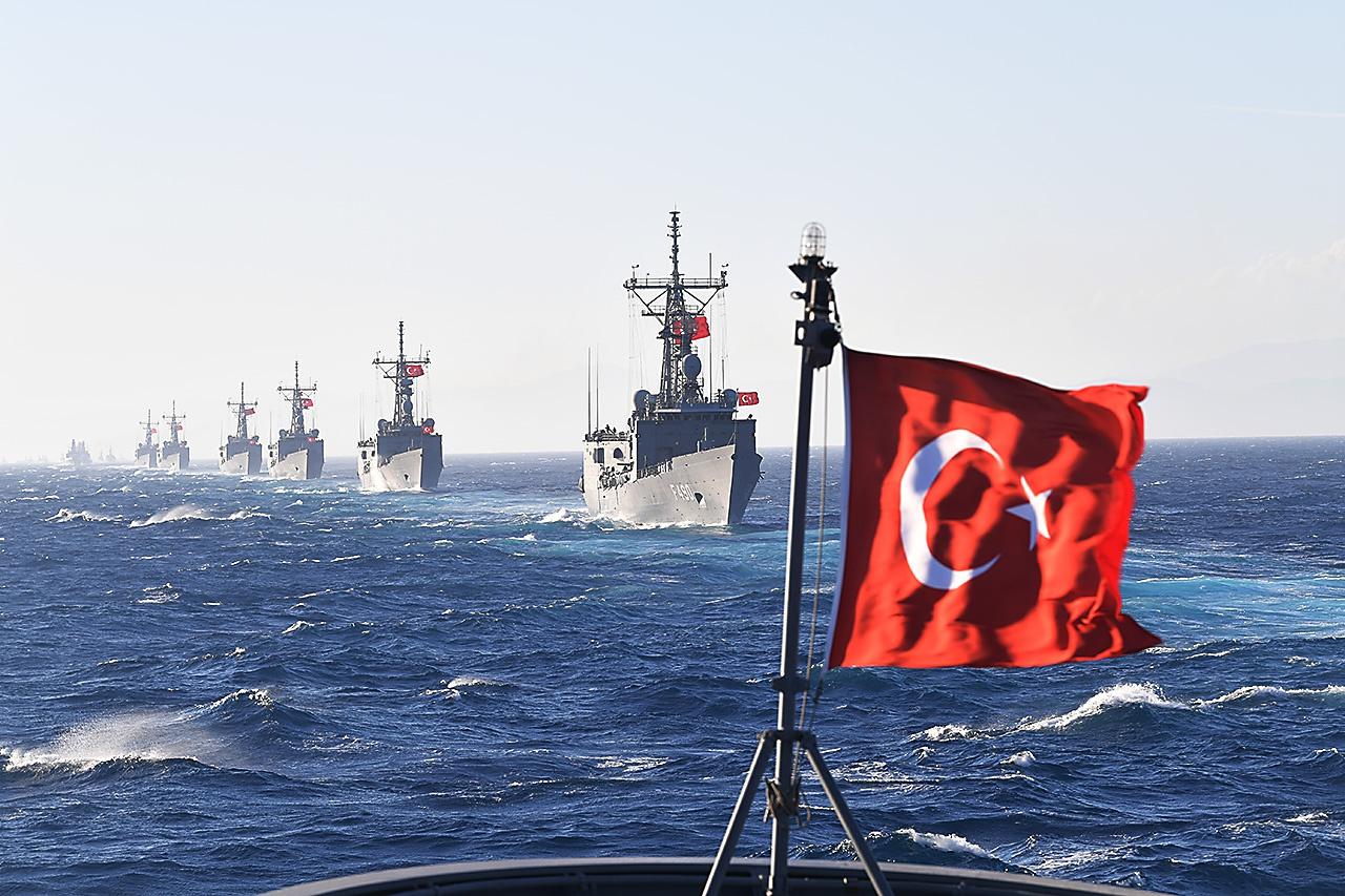 Турецкий черноморский флот.