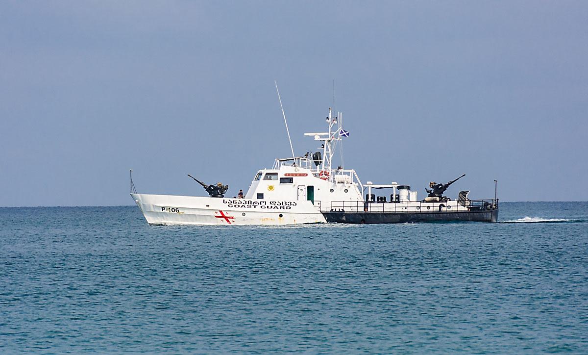 Катера ВМС Грузии после августа 2008 года переданы в состав Береговой охраны.