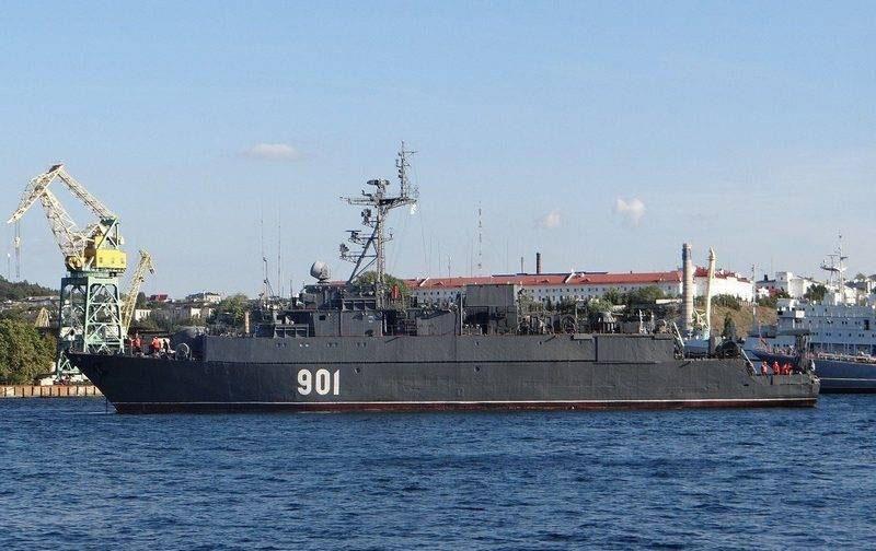 Морской тральщик проекта 12660.