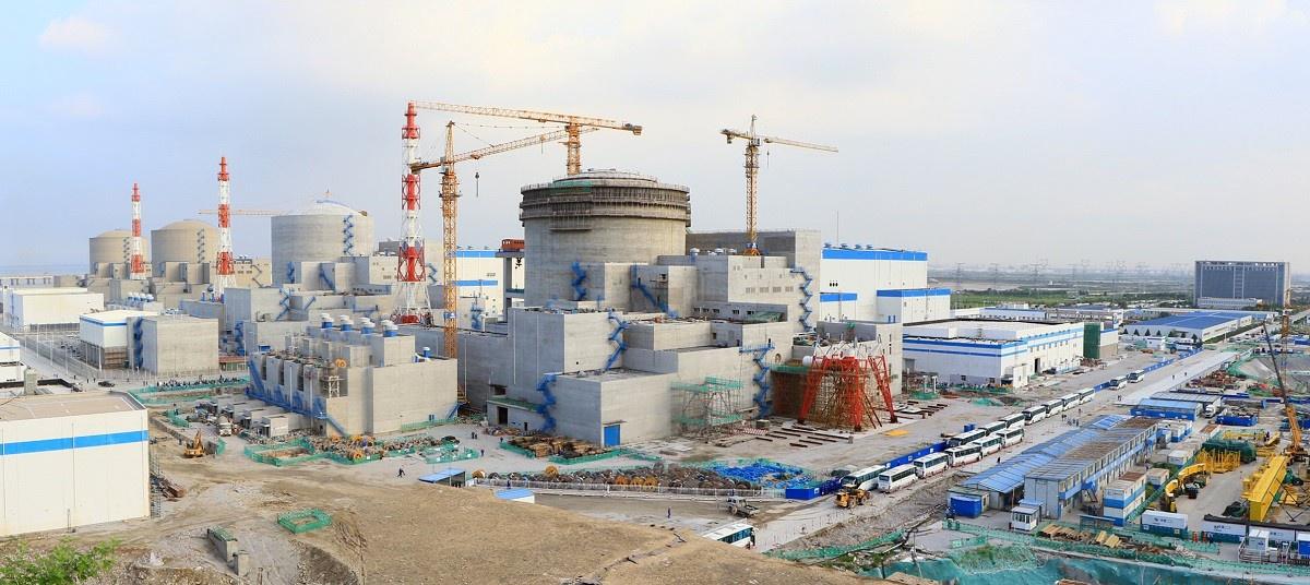 Строительство Тяньваньской АЭС началось в октябре 1999 года.