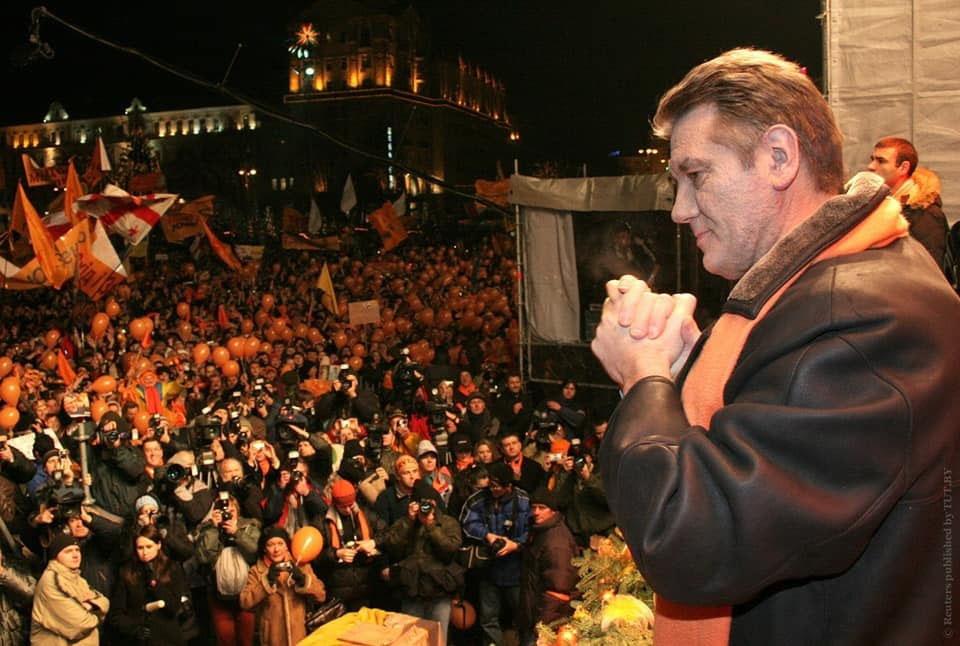 Ющенко был единственным президентом Украины, организовавшим два государственных переворота.