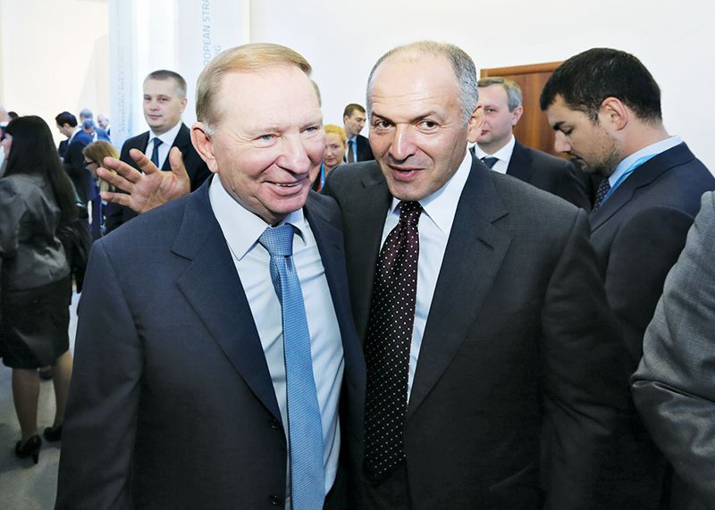 Леонид Кучма и его зять Виктор Пинчук - самый прозападный олигарх Украины.