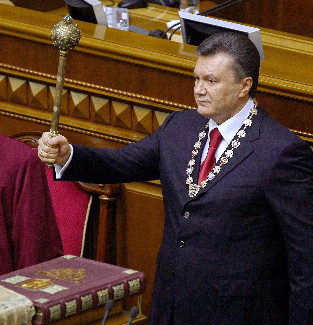 Став президентом, Янукович оказался не на своём месте.
