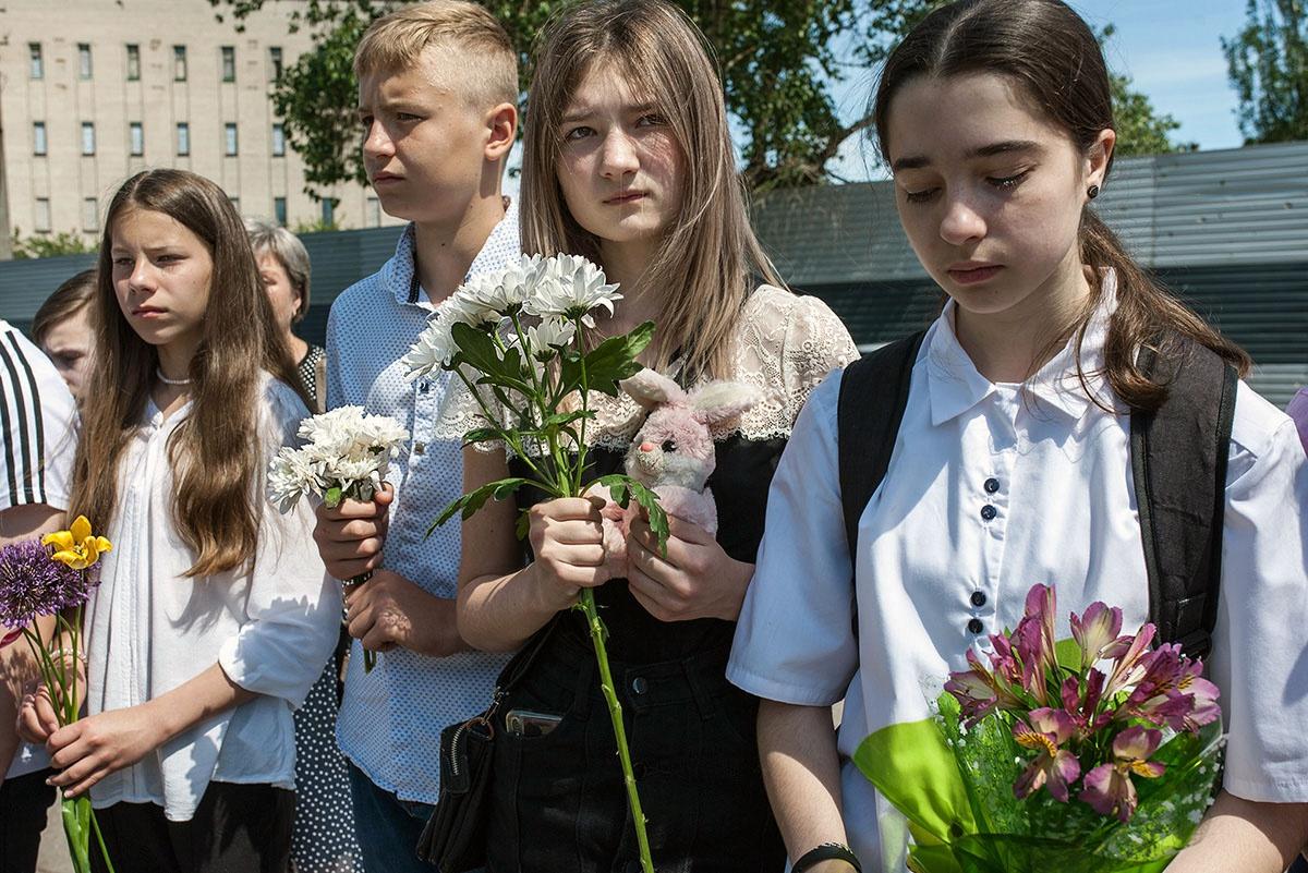 В Донбассе появилось поколение детей, не знающих иной жизни, кроме войны.
