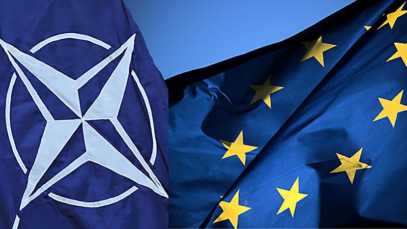 НАТО должна стать надевропейской военной организацией, которой в будущем, в интересах безопасности, будет переподчинён Европейский союз.