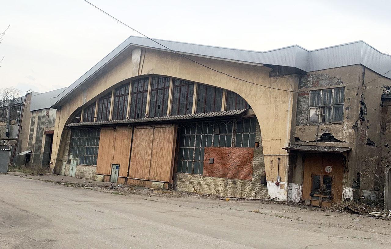 Ангар Шухова был построен в начале 30-х годов ХХ века.