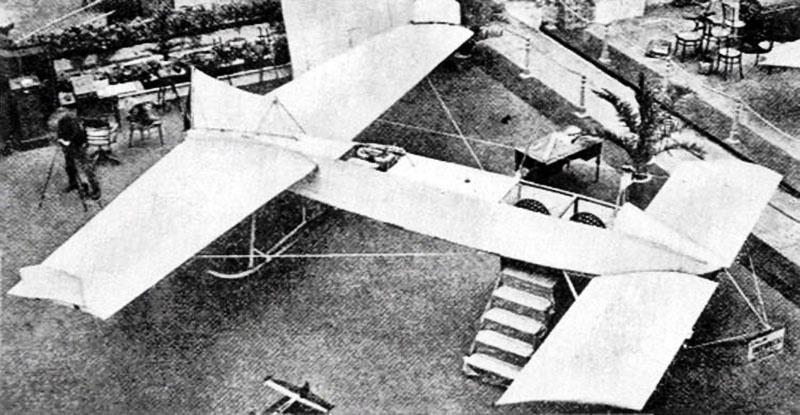 Аэроплан Джевецкого был представлен на авиавыставке в Париже в 1913 году.
