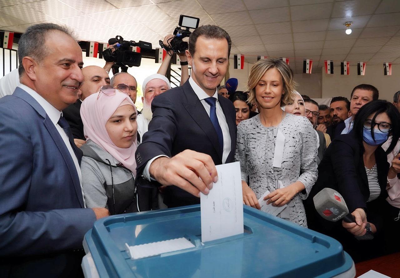 Башар Асад остаётся у власти в Сирии на следующие семь лет.