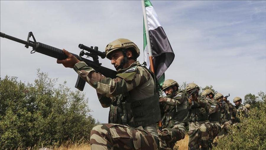 Бойцы «Сирийской свободной армии» (ССА) - марионетки Эрдогана.