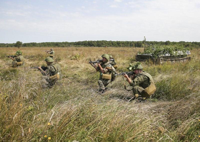 В Ставропольском крае более 3.000 мотострелков ЮВО приступили к занятиям по модульной системе.
