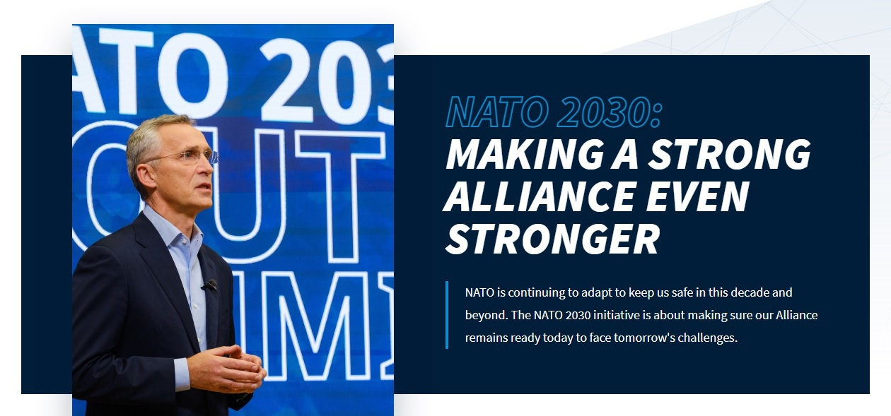 Американские стратеги и их гауляйтер Йенс Столтенберг предлагают Европе атрибут силы - новый, монолитный военно-политический блок НАТО-2030, который будет обеспечивать евроатлантический порядок в ближайшее десятилетие.