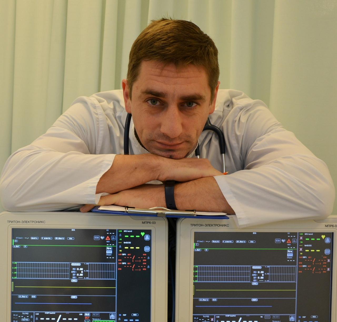 Доктор Руслан Казачишин.