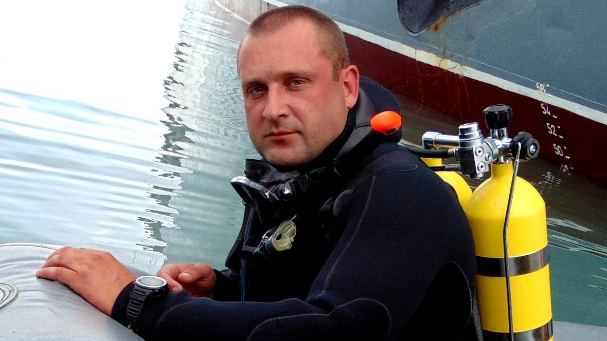 Сергей Скиба и бойцы подводного фронта