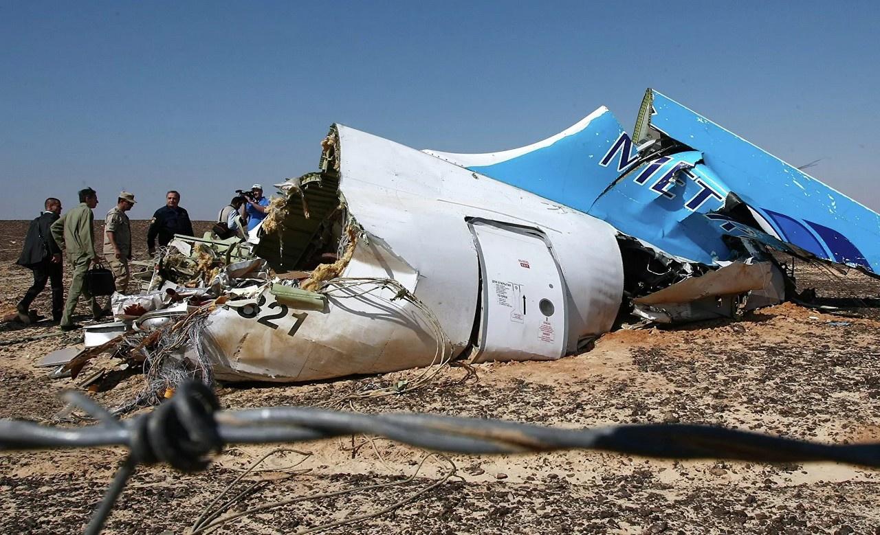 Осенью 2015 года российский самолёт был сбит над Синаем.