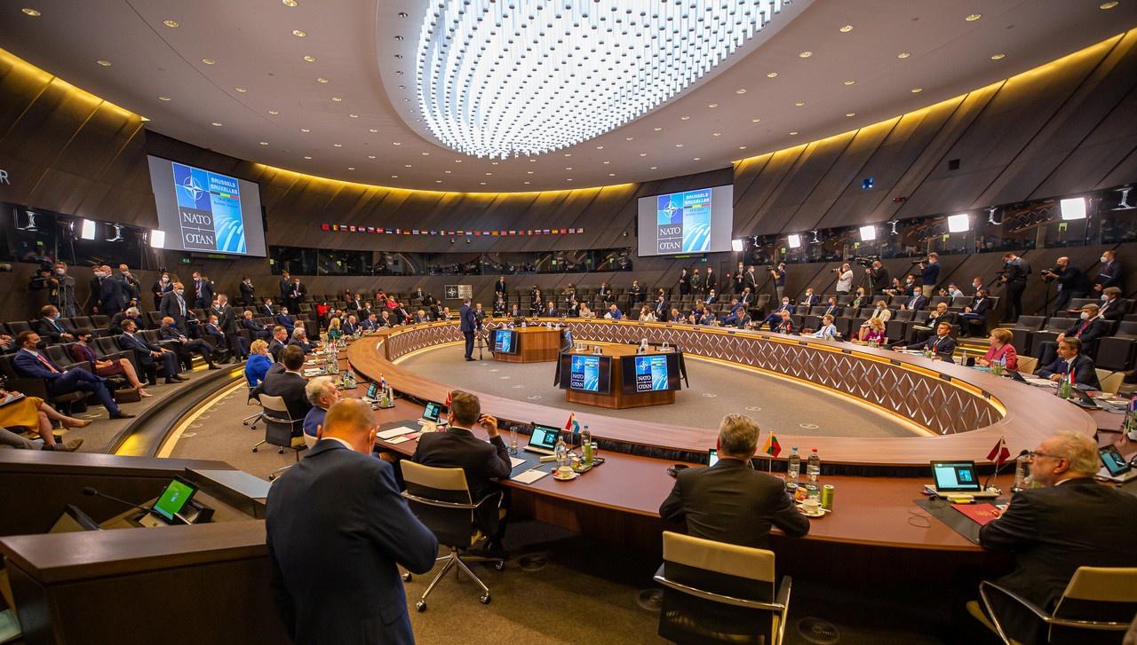 Саммит НАТО в Брюсселе 14 июня 2021 г.