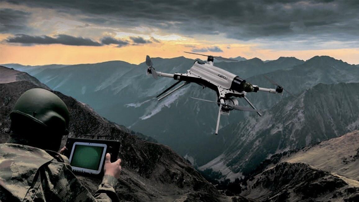 Своим умом боевой дрон не силён, он действует по программе