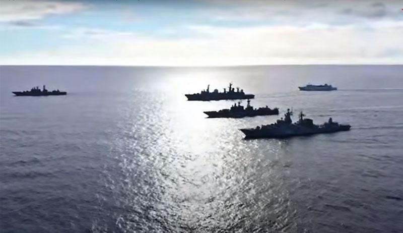 К учению в дальней морской зоне привлечено до 20 надводных кораблей, подводные лодки и суда обеспечения ТОФ.
