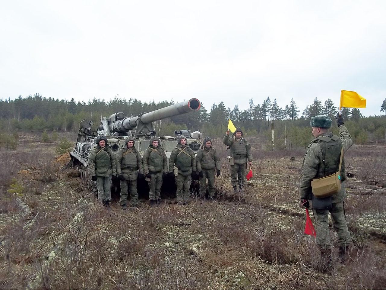 В составе каждого расчёта обязательно есть бойцы, которые могут передать опыт молодым военнослужащим.