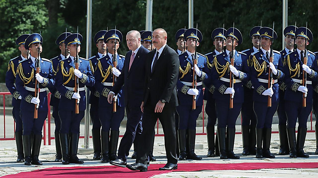 Эрдоган энергично осваивает Кавказ и Среднюю Азию