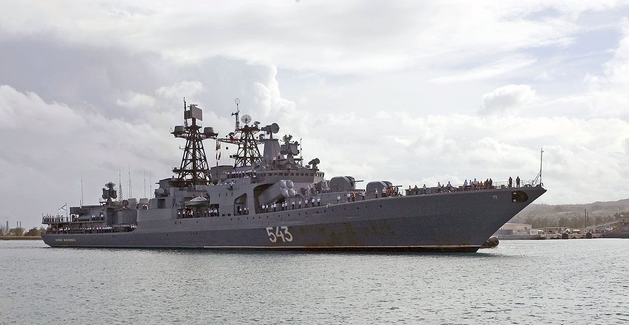 Большой противолодочный корабль «Маршал Шапошников».